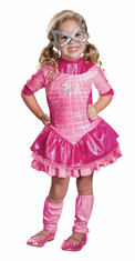 SPIDERGIRL PINK DELUXE 3T-4T CHILD COSTUME