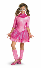 SPIDERGIRL PINK DELUXE CHILD COSTUME