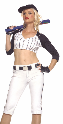 STAR PLAYER NAVY WHITE ADULT COSTUME