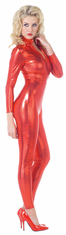 STRETCH JUMPSUIT RED ADULT COSTUME