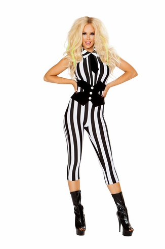 Striped Catsuit Costume