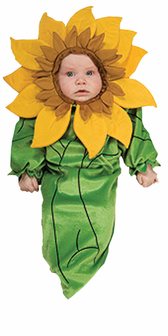 SUNFLOWER NEWBORN COSTUME