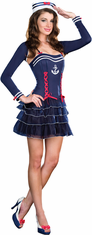 SURF CITY SWEETIE ADULT SEXY COSTUME