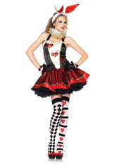 TEA PARTY BUNNY ADULT SEXY COSTUME