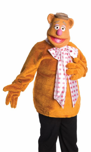 THE MUPPETS FOZZIE BEAR ADULT  COSTUME