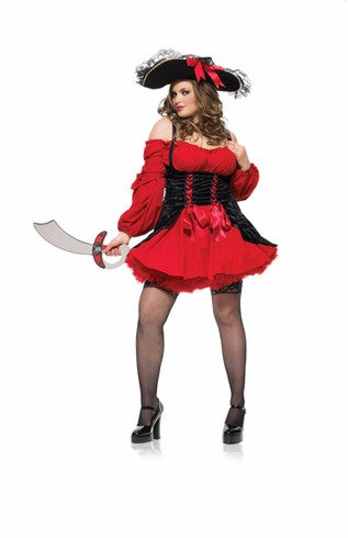 VIXEN PIRATE WENCH ADULT PLUS SIZE COSTUME