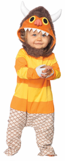 WHERE THE WILD THINGS ARE BABY CAROL INFANT COSTUME