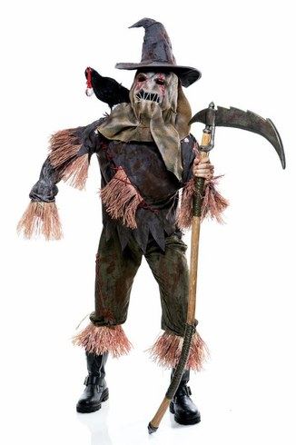 WICKED OF OZ SKARECROW MEN ADULT COSTUME