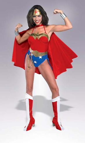 WONDER WOMAN SEXY ADULT COSTUME
