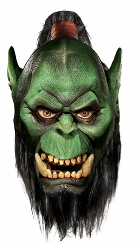 WORLD OF WARCRAFT ORC LATEX MASK