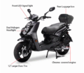BMS Caviler 150cc Scooter - Moped - Fast Shipping - FREE HELMET -