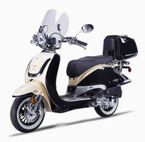 Lancer Heritage 2-tone 150cc Vintage Looks   Scooter! Fast Delivery!   FREE Helmet!