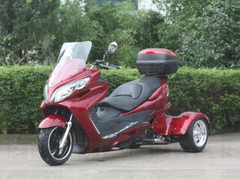 MTB300T 300cc TORNADO DELUXE TRIKE SCOOTER. UPGRADED SUSPENSION!  STREET & FREEWAY LEGAL.  FAST SHIPPING!