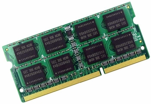 Adata AD73I1A0873EU - 1GB 1333Mhz PC3-10600S DDR3-1333 204-Pin SODIMM Laptop Memory Ram