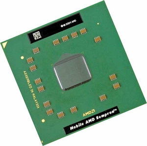 AMD SMS3300BQX2LF - 2GHz 128 KB Socket 754 Mobile Sempron 3300+ CPU Processor