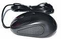 Black iMicro Ergonomic Wired USB 3D Optical Mouse