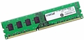 Crucial CT12864BA1339A.8FG - 1GB 1333Mhz PC3-10600U DDR3-1333 240-Pin DIMM CL9 Desktop Memory Ram