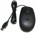 Dell 9RRC7 - Black Optical 3-Button Scroll Wheel USB Mouse for Dell Computers