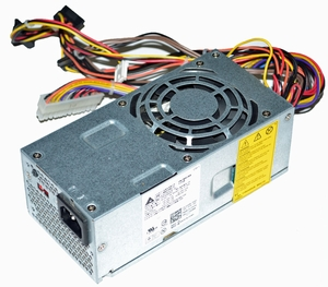 Dell  K421C - 250W Power Supply Unit (PSU) for Dell Studio Inspiron Slim line SFF Model: 530S, 531S, 537s, 540s, Dell Vostro Slim line SFF 200, 200s, 220s, 400