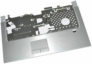 Dell RU484  - Silver Biometric Palmrest Assembly with Touchpad and Fingerprint Reader for XPS M1530