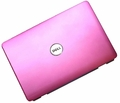 "Dell TY055 - 15.4"" PINK LCD Top Back Cover for Inspiron 1525 1526"