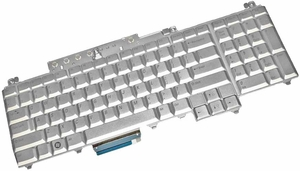 Dell UW739 - Silver Keyboard US Layout For Inspiron 1720, 1721, XPS M1720, M1730