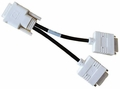 Hewlett-Packard (HP) 338285-007 - DMS-59 to Dual DVI Splitter Cable