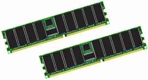 Hewlett-Packard (HP) 371047-B21 - 1GB (2X512MB) 333Mhz 2RX4 PC-2700R ECC Registered Memory