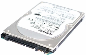 "HP 500342-001 - 120GB 5.4K RPM SATA 9.5mm 2.5"" Hard Drive"
