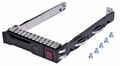 "Hewlett-Packard (HP) 651699-001 - SFF 2.5"" HDD Tray Caddy for ML350e ML310e SL250s G8 Gen8"