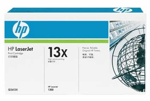 HP Q2613X - Black 4000 Yield # 13X Toner Cartridge