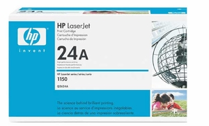 HP Q2624A - Black 2500 Yield # 24A Toner Cartridge