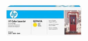 HP Q3962A - Yellow 4000 Yield # 122A Toner Cartridge