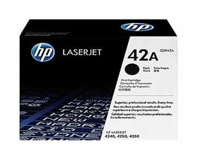 HP Q5942A - Black 10000 Yield # 42A Toner Cartridge