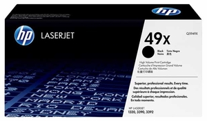 HP Q5949X - Black 6000 Yield # 49X Toner Cartridge