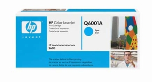 HP Q6001A - Cyan 2000 Yield # 124A Toner Cartridge
