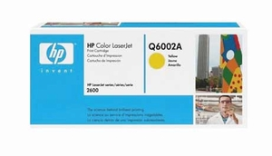 HP Q6002A - Yellow 2000 Yield # 124A Toner Cartridge