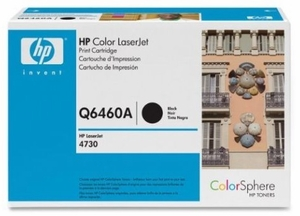 HP Q6460A - Black 12000 Yield # 644A Toner Cartridge