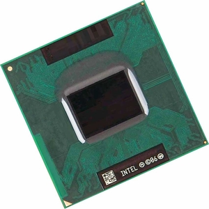 Intel SLGFJ - 2.16Ghz 667Mhz 4MB PPGA478 Intel Core 2 Duo T7400 Dual Core CPU Processor