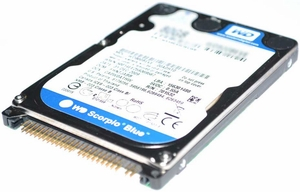 "Western Digital WD1200VE-00KWT0 - 120GB 5.4K RPM IDE 2.5"" Hard Disk Drive (HDD)"