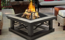 Crestone Gel/Wood Burning Fire Pit