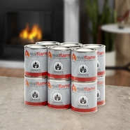 Real Flame Gel Fuel - 13 oz cans - 12 pk