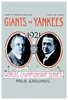 1921 World Series Poster New York Giants vs New York Yankees