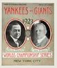 1923 World Series New York Yankees vs New York Giants Poster