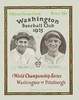 1925 WORLD SERIES Washington Senators vs Pittsburgh Pirates Poster