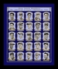 1926 New York Yankees Team Poster Framed