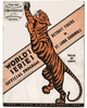 1934 World Series Detroit Tigers vs St Louis Cardinals Poster
