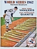 1962 World Series New York Yankees vs San Francisco Giants Poster