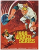 1966 World Series Los Angeles Dodgers vs Baltimore Orioles Poster