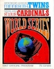 1967 World Series Minnesota Twins vs St Louis Cardinals  Poster